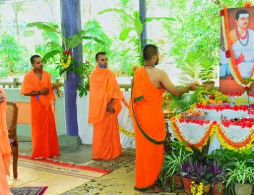 Basava Jayanthi celebrations held in a simple manner at Suttur Math, Mysuru