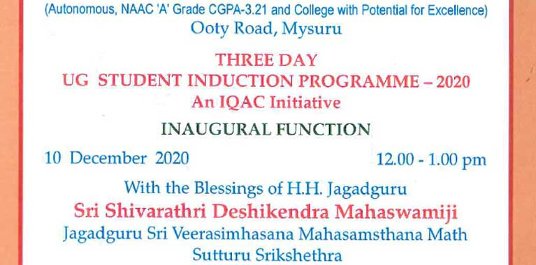 Induction-Programme