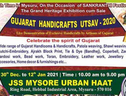 Special Handloom Expo at JSS Urban Haat
