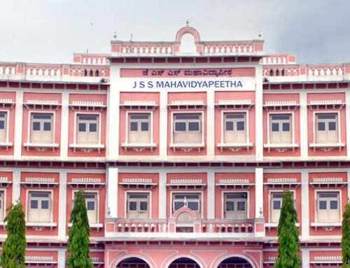Employees of the JSS Mahavidyapeetha have voluntarily contributed their one-day's salary