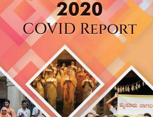 Sutturu Matha and JSS Mahavidyapeetha's contributions in Combating